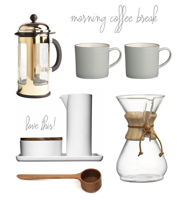 Morning coffee break essentials | The Sweetest Occasion