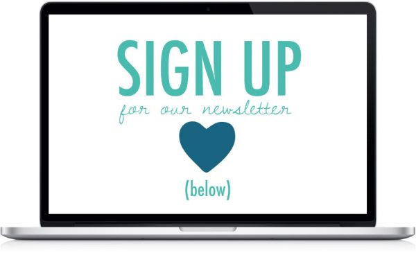Sign up for The Sweetest Occasion Newsletter