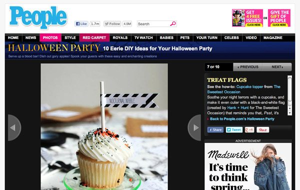 The Sweetest Occasion featured by People