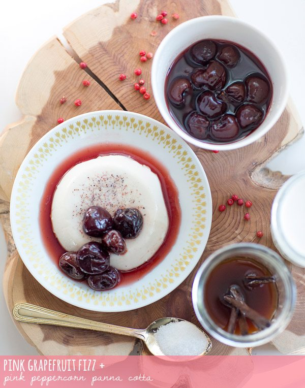 Pink Peppercorn Panna Cotta
