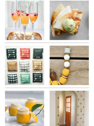 Recently Pinning: Citrus + Wood thumbnail