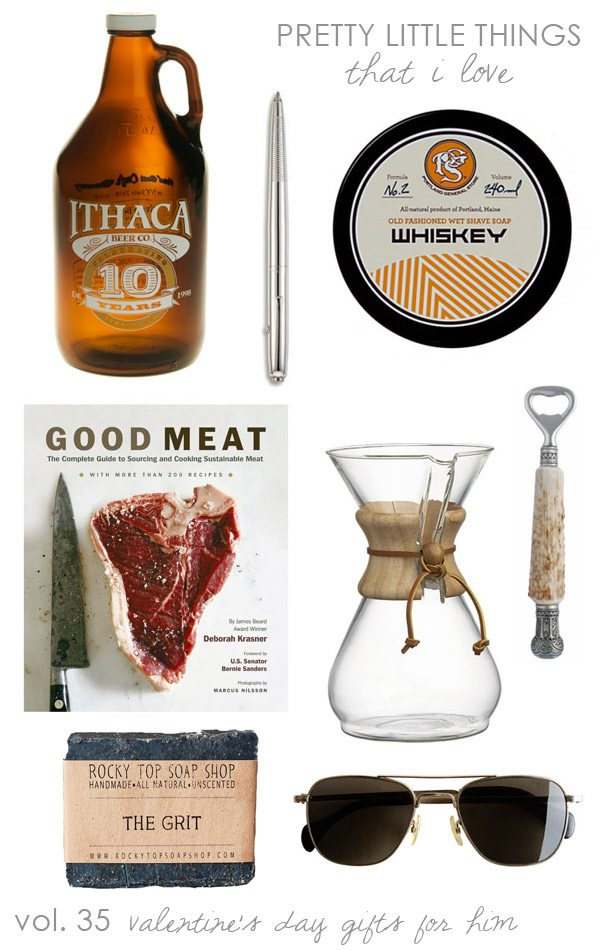 Valentine's Day Gift Ideas for Guys from The Sweetest Occasion