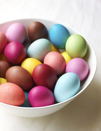 Rit Dye Easter Eggs