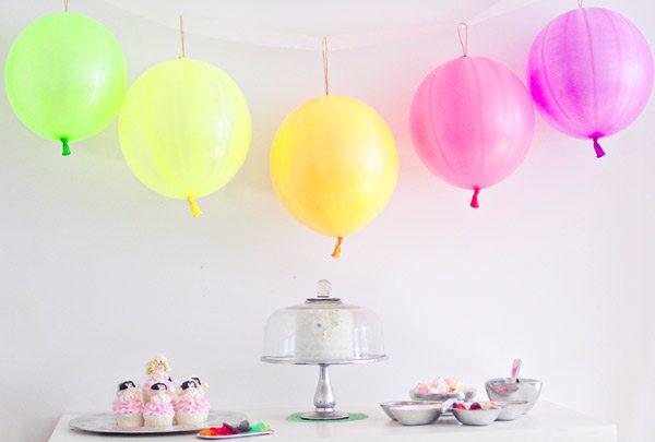 Neon fairy birthday party