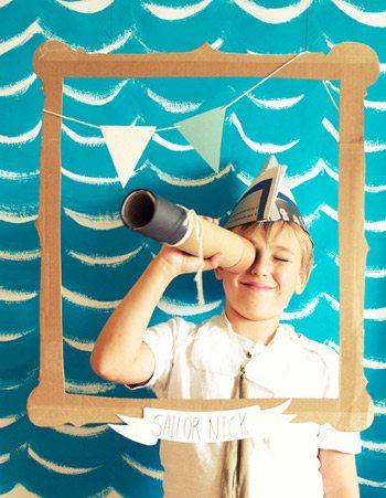 A sailor birthday party