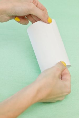 DIY Easter Bunny Treat Pouches Step 1