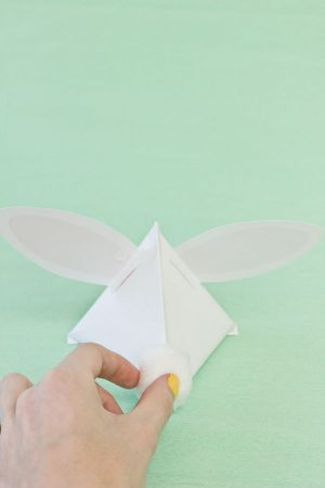 DIY Easter Bunny Treat Pouches Step 12