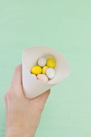DIY Easter Bunny Treat Pouches Step 3