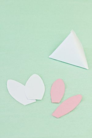 DIY Easter Bunny Treat Pouches Step 7