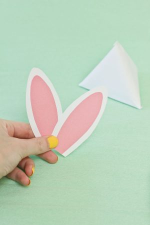 DIY Easter Bunny Treat Pouches Step 8
