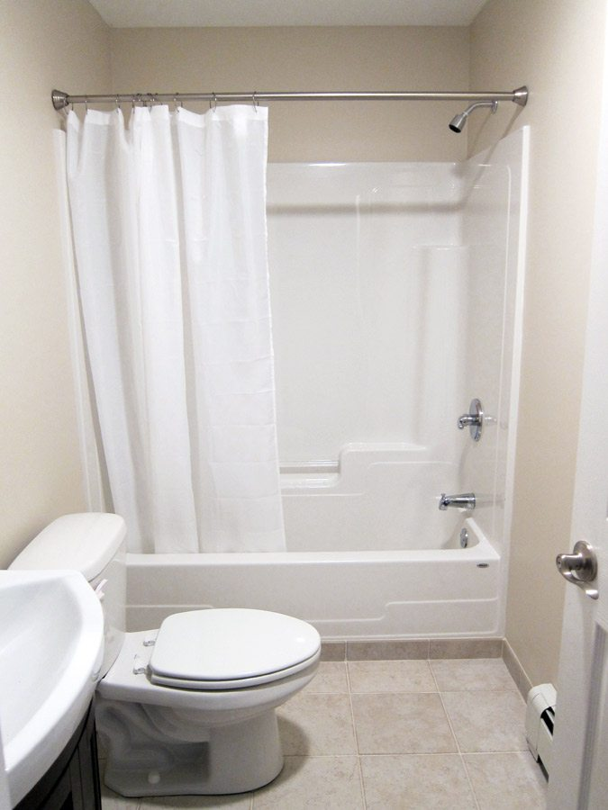 Bathroom no window interior design Bathroom design no window