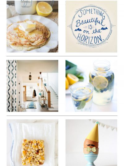 Recently Pinning: Blue + White thumbnail