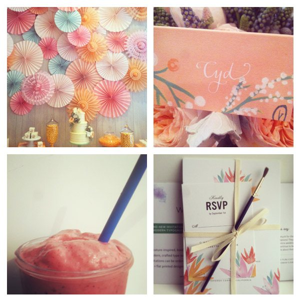 Instagram snippets of the week | The Sweetest Occasion