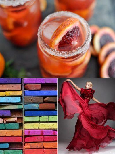 Color Palette: Ruby + Blood Orange thumbnail