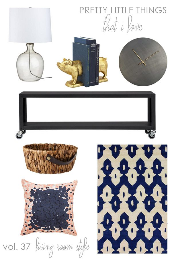 Pretty living room accessories | The Sweetest Occasion