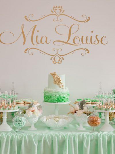Mia's Elegant Christening thumbnail