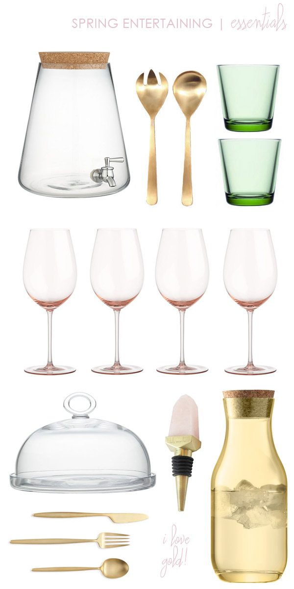 Spring Entertaining Essentials   The Sweetest Occasion