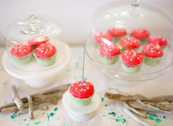 Polka Dot Cupcakes | The Sweetest Occasion