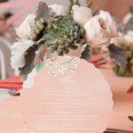 round-wedding-menu