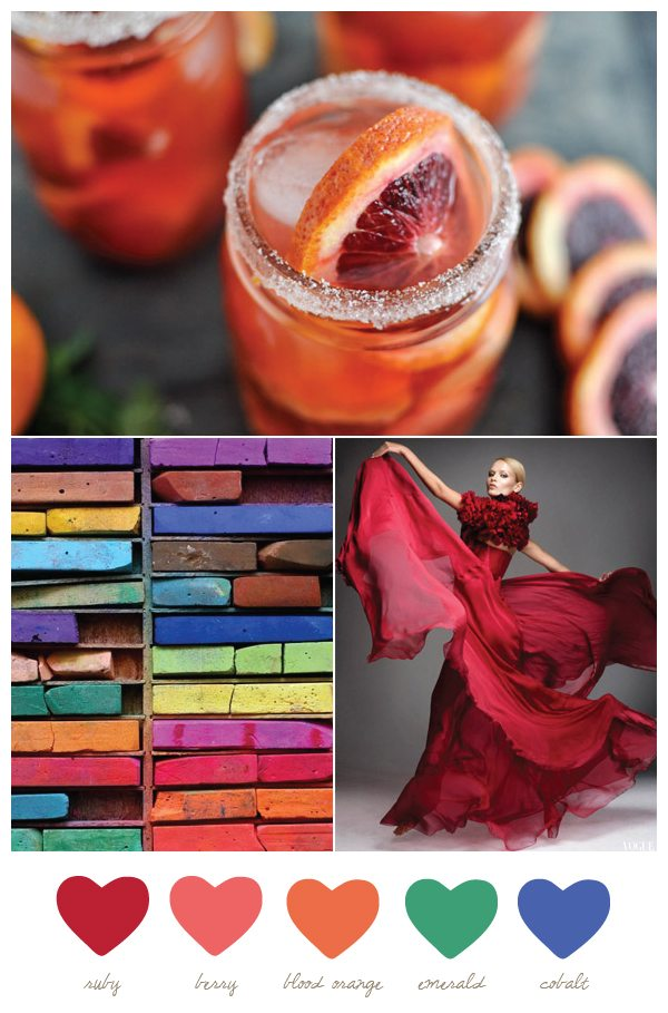 Ruby + Blood Orange | The Sweetest Occasion