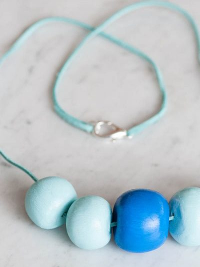 DIY Clay Bead Necklace thumbnail