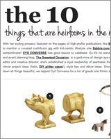 The 10: Things That Are Heirlooms In The Making at Beso.com thumbnail