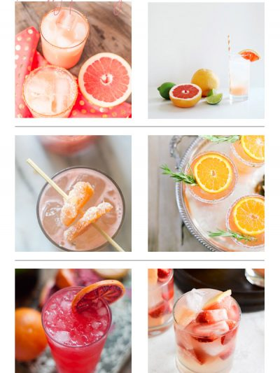 Recently Pinning: Citrus Cocktails thumbnail