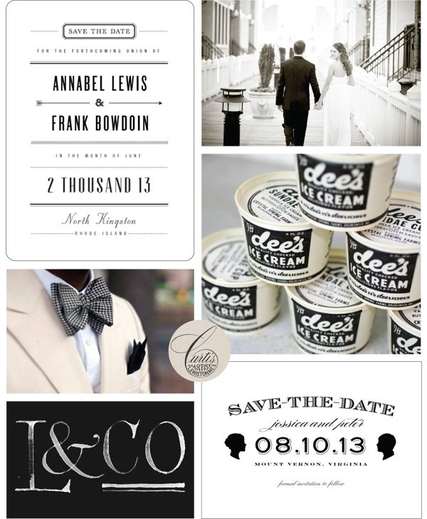Classic Black + White Wedding Ideas