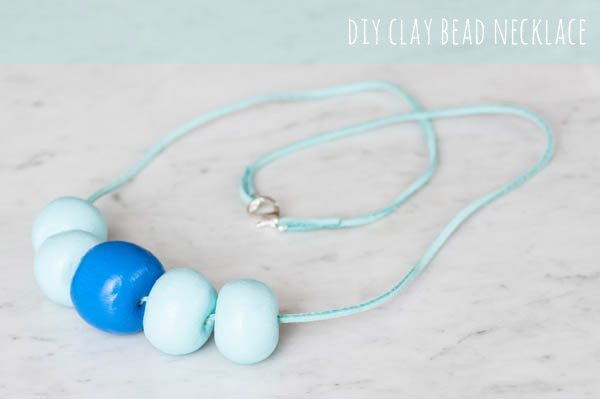 DIY Clay Bead Necklace