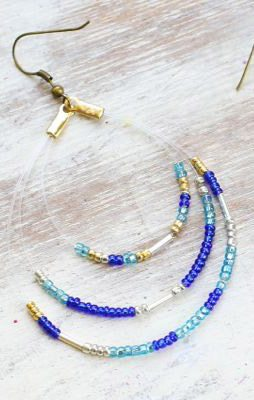 DIY Seed Bead Earrings thumbnail