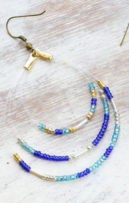 DIY Seed Bead Earrings thumbnail
