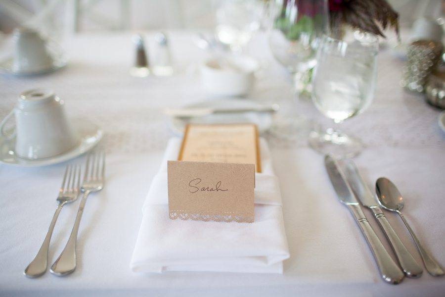 Elegant Wedding Table Setting The Sweetest Occasion