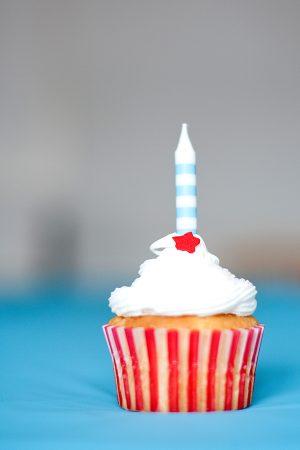 Circus Birthday Cupcakes