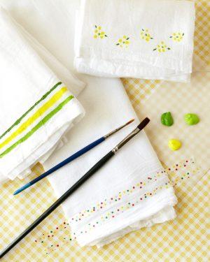 Handpainted Tea Towels