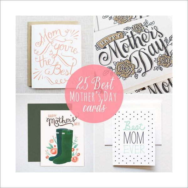25 Best Mother's Day Cards