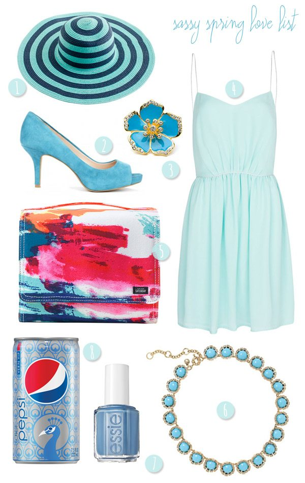 Sassy Spring Love List | The Sweetest Occasion