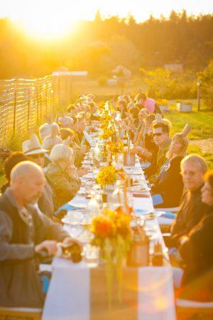Sunset Dinner Party