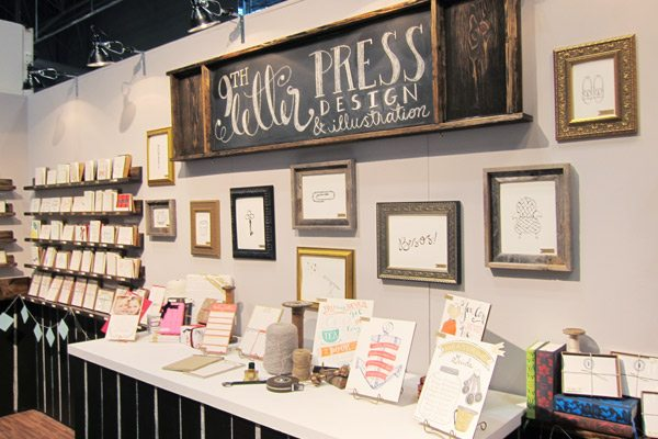 9th Letter Press - National Stationery Show 2013