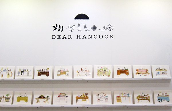 Dear Hancock - 2013 National Stationery Show