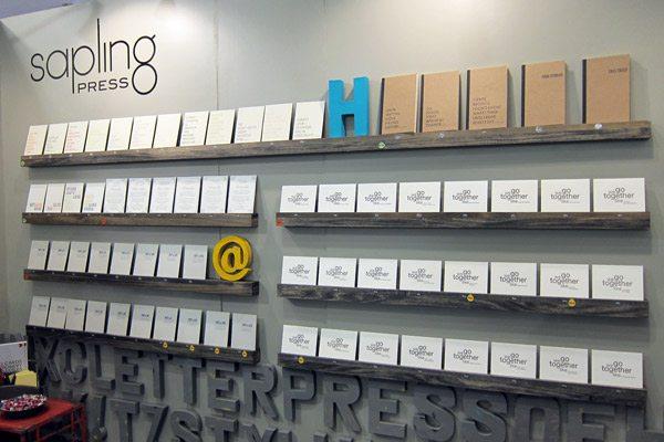 Sapling Press - 2013 National Stationery Show