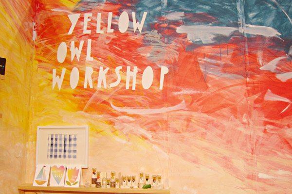 Yellow Owl Workshop - National Stationery Show 2013
