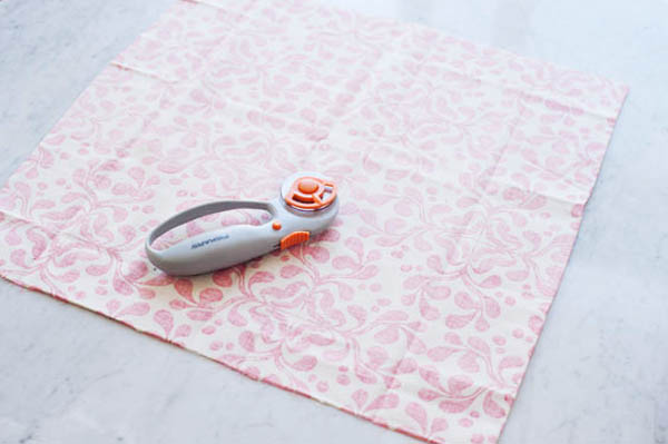 DIY No-Sew Cloth Napkins