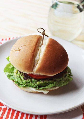 edamame-burger - The Sweetest Occasion — The Sweetest Occasion