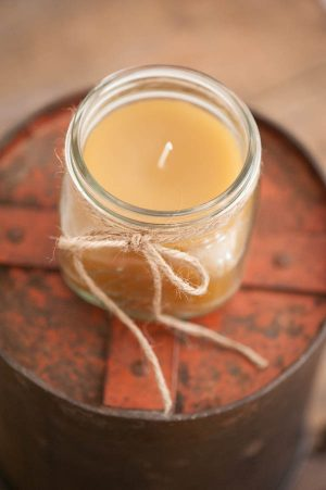 DIY Beeswax Candles