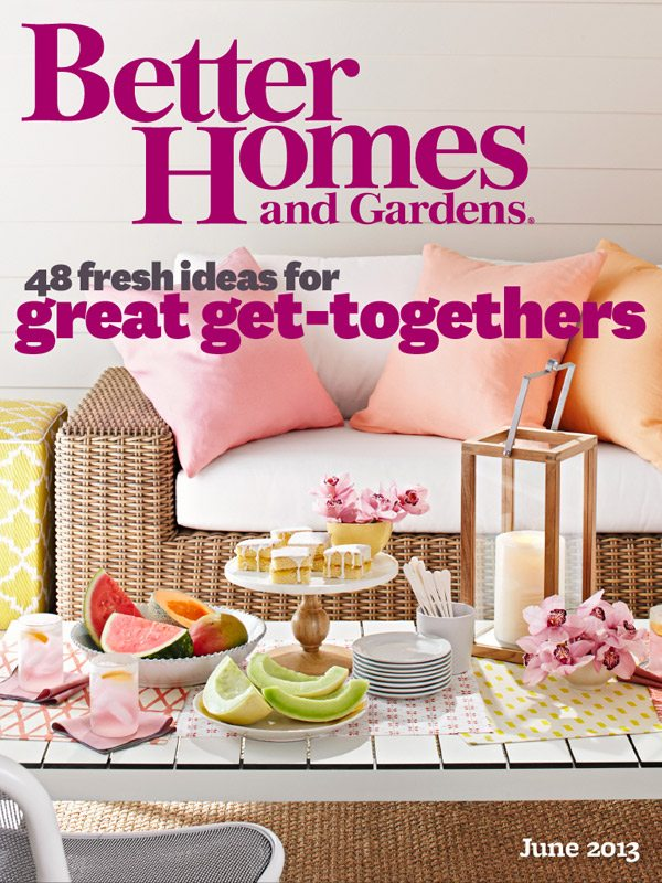 Better Homes And Gardens Magazine June 2017 Edition: The Sweetest Occasion In Better Homes & Gardens