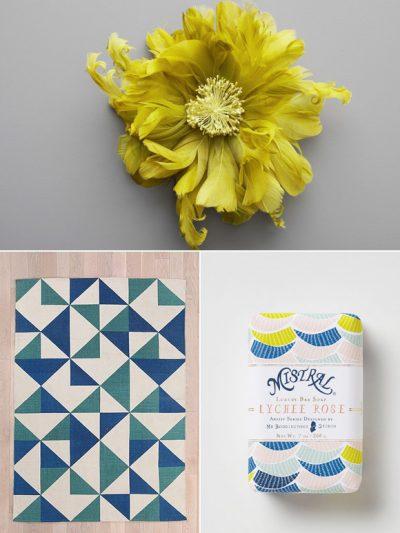 Color Palette: Sapphire + Chartreuse thumbnail