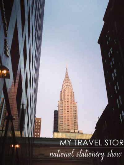 My Travel Story: National Stationery Show 2013 thumbnail
