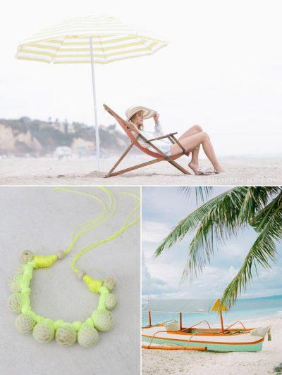 Color Palette: Lime + Ocean thumbnail