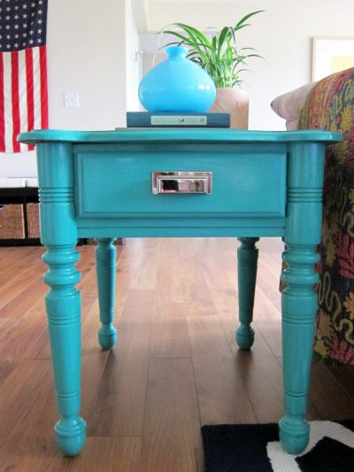 DIY Painted End Tables thumbnail