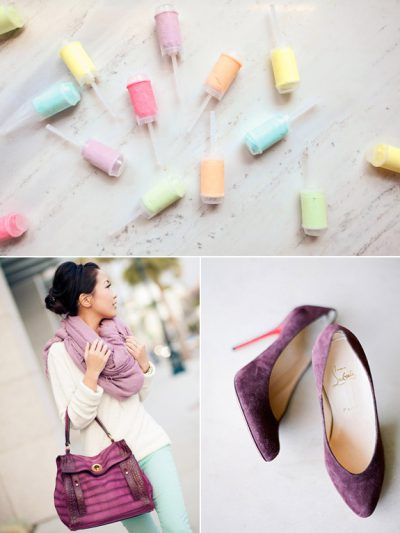 Color Palette: Plum + Mint thumbnail